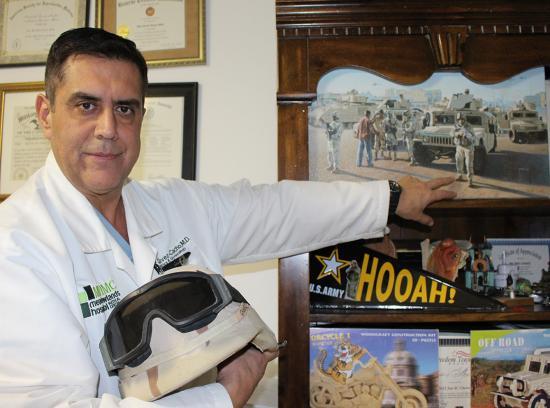 Coronel de Reserva de los Estados  Unidos, Dr Manuel Chavez Cacho