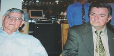 Sergio Massa con Eddy Chavez  en 2004 en Miami