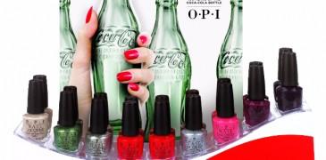 OPI y COCA-COLA Celebrando los 100 años de la Botella Coca-Cola con íconos de colección