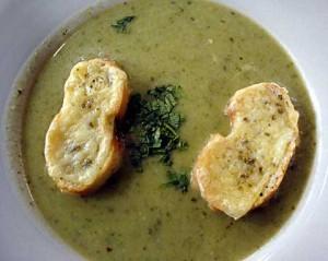 Crema de Brócoli y Yautía