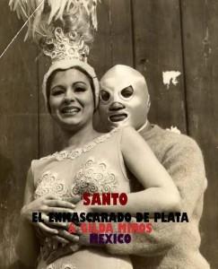 Con Santo, El Enmascarado de Plata, película taquillera