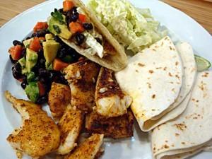 tacos de tilapia