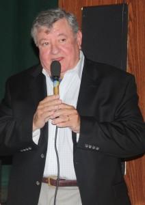 Miguel Ángel Sánchez, periodista y autor del mejor libro acerca de Capablanca. (Foto Roberto Bustamante)