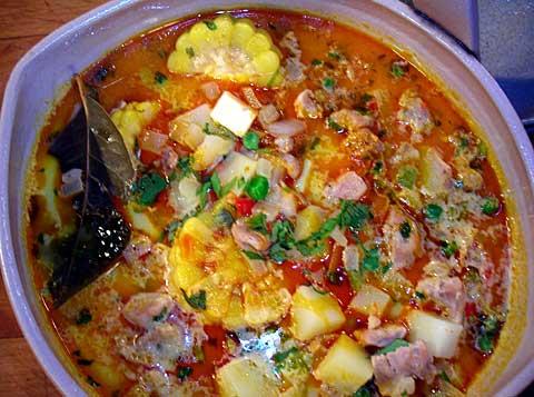 Chupe De Pollo