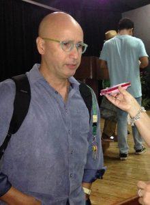 """Dr. José Antonio López, director artístico de ''Presencias""""."""
