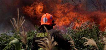 Los voraces incendios que no paran en Chile