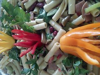 Las Recetas de Chef Leilani: Ensalada de verduras de frijoles