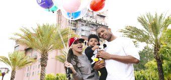 Amelia Vega, Miss Universo 2003, y su esposo, el baloncelista Al Horford, tuvieron una corta pero mágica visita a Walt Disney World Resort