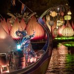 Rivers of Light is an all-new nighttime show at Disney's Animal Kingdom at Walt Disney World Resort. Rich in symbolism and storytelling, the elaborate theatrical production takes guests on a breathtaking emotional journey -- a visual mix of water, fire, nature and light all choreographed to an original musical score. Rivers of Light will be performed on select nights. (Kent Phillips, photographer)