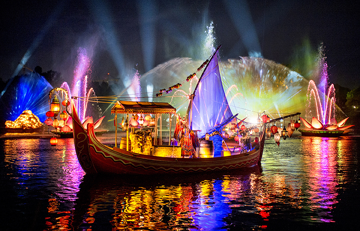 Rivers of Light, Nuevo show de Disney's Animal Kingdom, estrenó el 17 de febrero