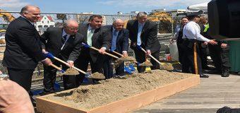 Sweeney asistió a la inauguración del Gateway en Atlantic City