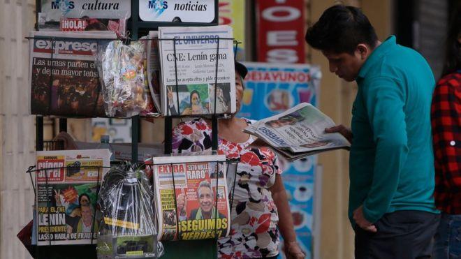 Por qué el gobierno de Ecuador multó a siete medios por no publicar una historia sobre el excandidato presidencial Guillermo Lasso