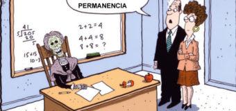 Caricaturas de Puerto Rico: Problemas de la Permanencia de Maestros