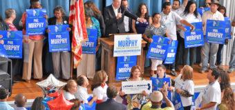 En Elizabeth, líderes respaldan a Phil Murphy