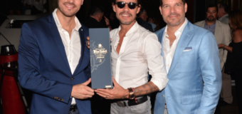 Marc Anthony Celebrando con Johnnie Walker en el Magnus All-Star Bash