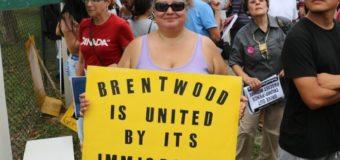La controvertida visita de Donald Trump a Brentwood, la localidad de Nueva York estremecida por la violencia de la Mara Salvatrucha