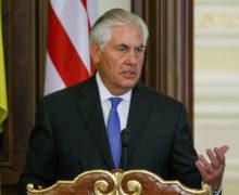 Tillerson promete a Ucrania respaldo de EU a su soberanía