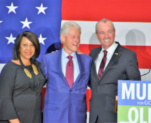 Fuerte respaldo de Bill Clinton a Phil Murphy y Sheila Oliver