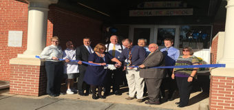 Sweeney y Burzichelli participan en inauguración de nueva escuela prescolar en Pittsgrove