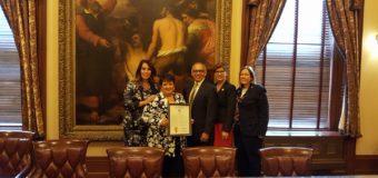 Senado de Nueva Jersey celebra el Mes de la Herencia Hispana, Reconoce a Líderes de la Comunidad Hispana