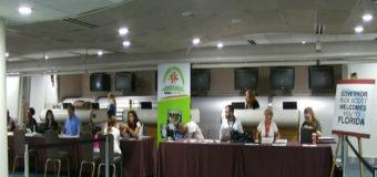 CENTRO DE RECEPCIÓN DE LOS RECIÉN LLEGADOS DESDE PR AL AEROPUERTO DE ORLANDO DEBIDO A EL HURACÁN MARÍA