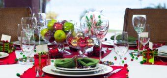 Ideas para la decoración de la mesa de Navidad