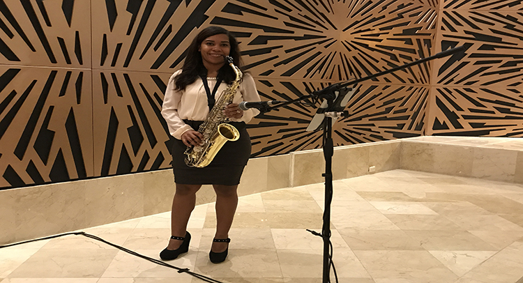 """Marta Trinidad: """"ser músico es mi profesión y mi pasión"""""""