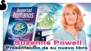Suzanne Powell presenta su libro DESPERTAD HUMANOS,  ha llegado la hora