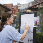 Disney guests will encounter artists at work during the 2nd annual Epcot International Festival of the Arts at Walt Disney World Resort in Lake Buena Vista, Fla. The festival combines visual, culinary and performing arts throughout its run Jan. 12-Feb. 19, 2018. (Chloe Rice, photographer)