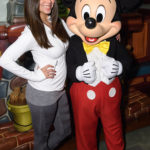 Celebrating the Holidays at the Merriest Place on Earth (December 30, 2017) - Model, actress, producer and writer, Roselyn Sánchez meets Mickey Mouse with her 5-year-old daughter Sebella Rose and husband, actor Eric Winter, at Mickey's Toontown at the Disneyland Resort in Anaheim, Calif., on Saturday. Photo Credit: Richard Harbaugh/Disneyland Resort