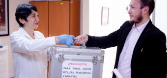 La Cancillería entrega al Instituto Nacional de Patrimonio Cultural la tzantza restituida por el Vaticano