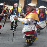 Los indígenas andinos expresan su apego a la tierra en estas celebraciones