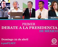 MEXICANAL NETWORKS TRANSMITIRA EN VIVO Y DIRECTO EL PRIMER DEBATE PRESIDENCIAL MEXICO 2018