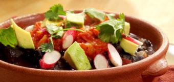 Enchiladas de Carne y Frijol de Olla de Cocción Lenta