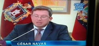 GOBIERNO ECUATORIANO EVALUA EL COMUNICADO DE LAS FARC