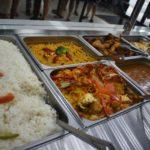 La variedad del menu que cambia diariamente