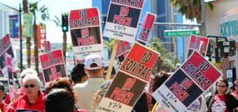 El 22 de mayo, los trabajadores de los casinos en Las Vegas harán una Votación para Autorizar una Huelga por Toda la Ciudad