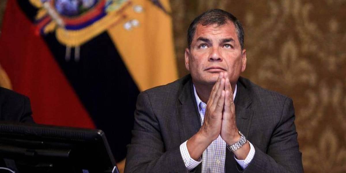 Expresidente Correa vinculado en el presunto secuestro de exasambleísta