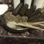 El maíz negro el ingrediente más importante de la colada morada.