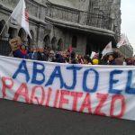 Paquetazo es como definen los ecuatorianos a la eliminación de subsidios a la gasolina, anunciada para marzo.