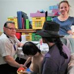 Niños enfermos reciben atención mèdica gratuita en Ayacucho