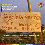 En la Amazonía se alerta a la ciudadanía para que se queden en casa