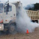 Desinfección del camión y de la carga antes de su salida de FDN
