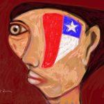 Obra pictórica del artística plástico ecuatoriano Pabel Égüez.