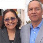 Raquel y su esposo Max, fundadores de Asociación Vidas.